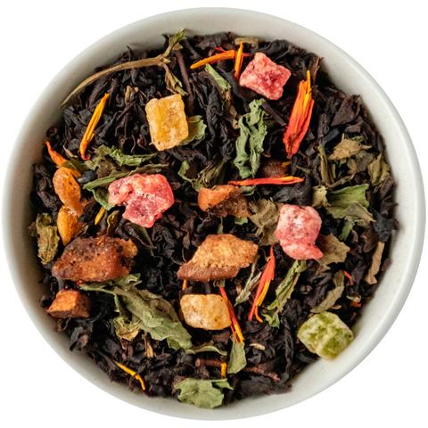 Чай айва с персиком