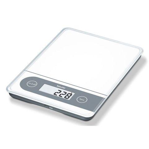 Весы кухонные электронные Beurer B-KS59W XXL макс.вес:20кг белый