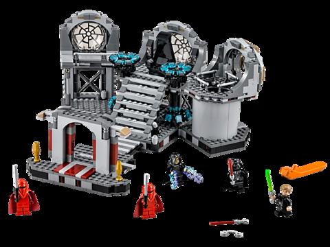 LEGO Star Wars: Звезда Смерти — Последняя схватка 75093 — Death Star Final Duel — Лего Стар Ворз Звездные войны
