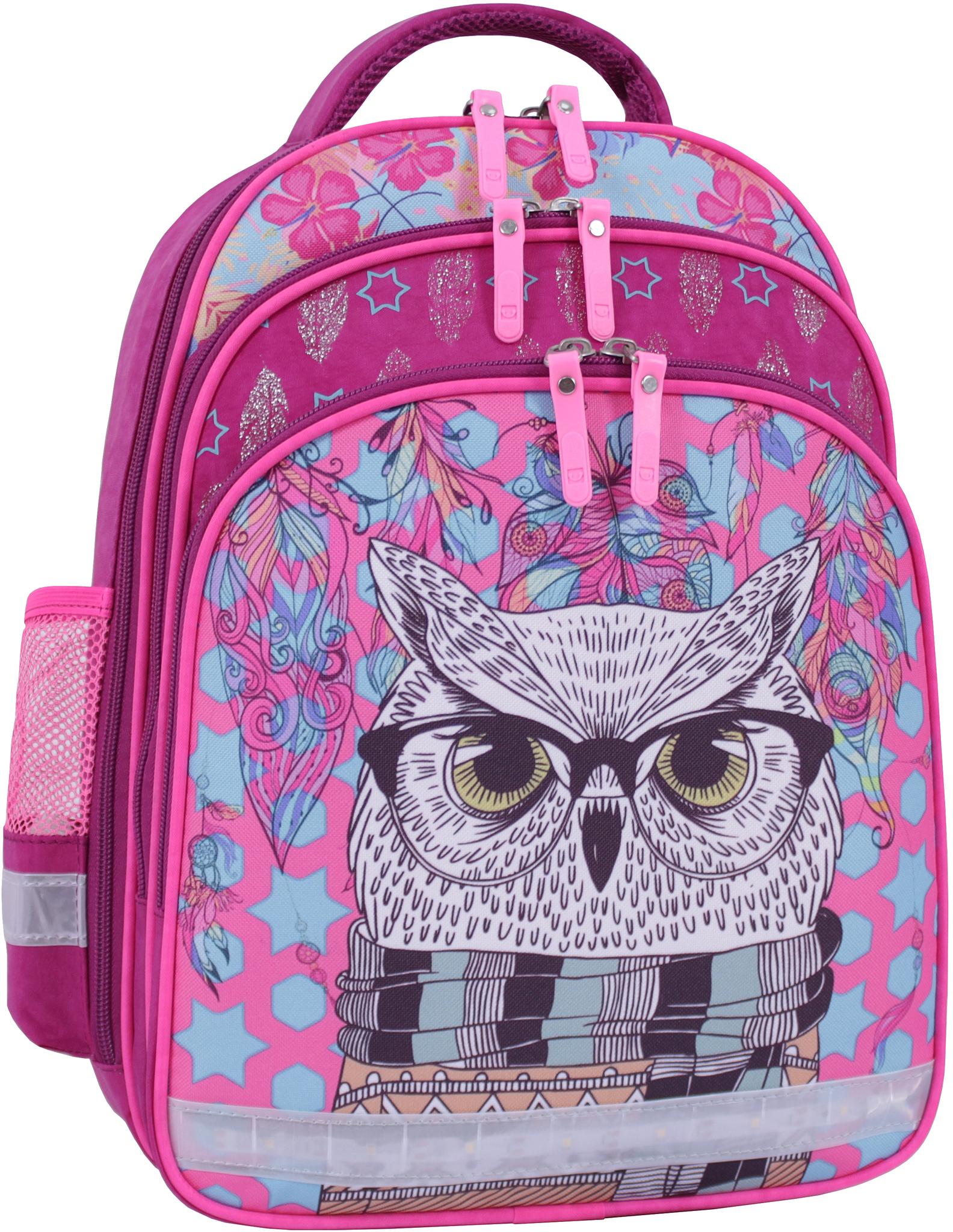 Детские рюкзаки Рюкзак школьный Bagland Mouse 143 малиновый 514 (0051370) IMG_9813_суб.514_.JPG