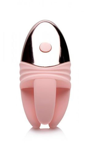 Розовый клиторальный массажер с щупальцами Vibrating Clit Teaser