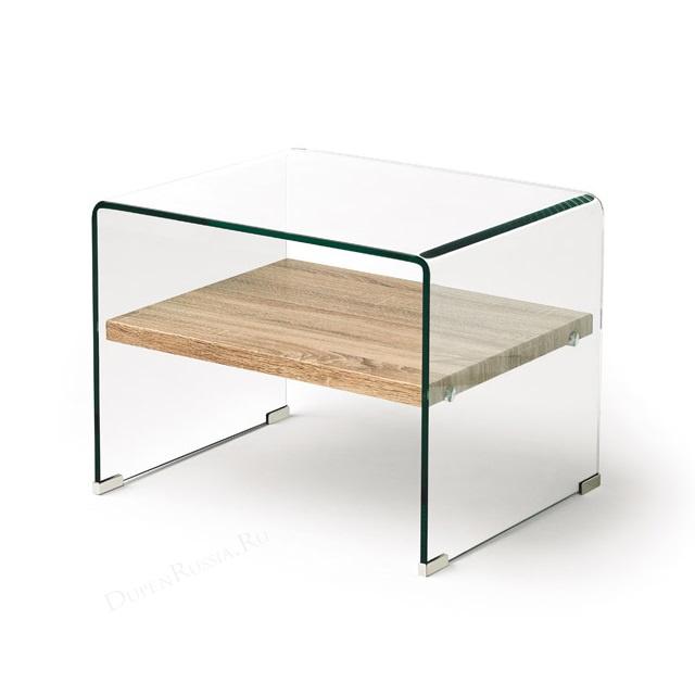 Журнальный стол DUPEN M-130 Прозрачный
