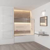 Шторка на ванну купе RGW SC-60 170х150 01116017-11 прозрачное