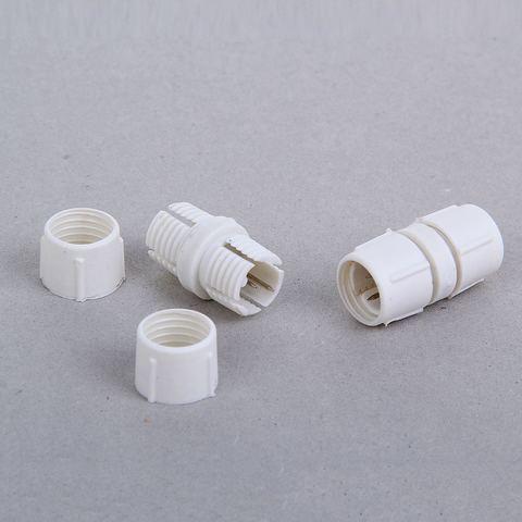 Коннектор соединительный для 2-х проводного дюралайта Ø 10 мм.