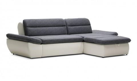 Угловой диван Монако, серый