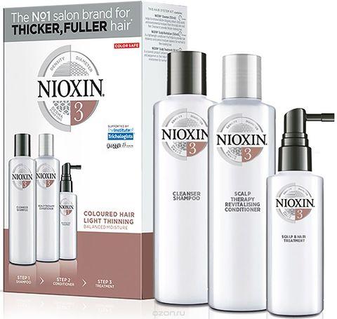 Набор XXL (Система 3),NIOXIN ,300мл(шампунь)+300мл(кондиционер)+100мл (маска)