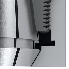 HiRunER Высокоточный цанговый патрон ER BT 40 A = 100