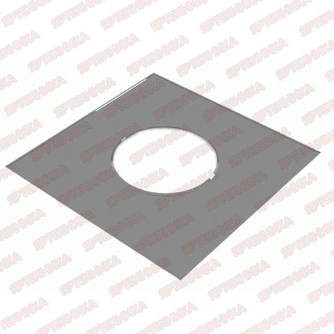 Фланец декоративный d150мм 500х500мм (430/0,5 мм) Ferrum
