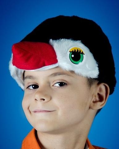 Карнавальная шапочка Пингвина 2