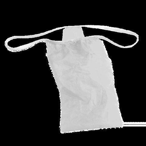 Трусы бикини женские спанбонд белые размер 44-48 25 шт/уп