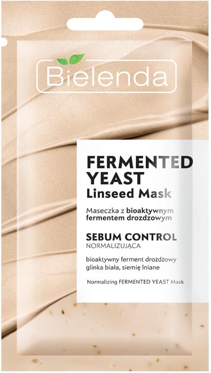 Linseed Mask маска себорегулирующая с биоактивными дрожжами, 8 г