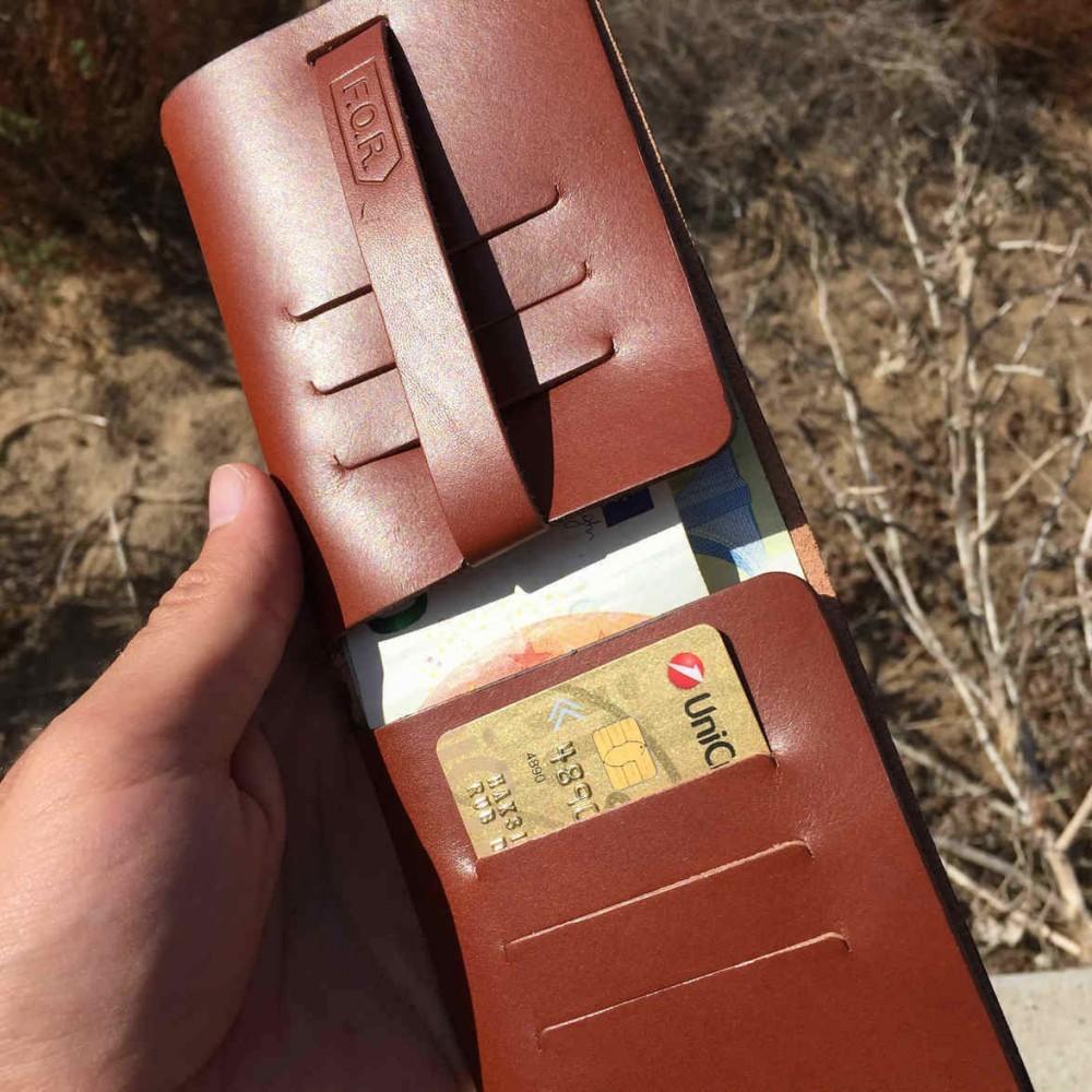 Leaf Wallet, brown