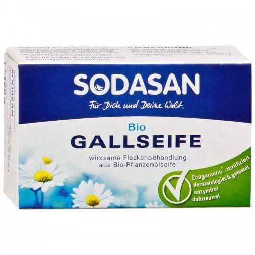 Мыло твердое, Sodasan, для удаления пятен в холодной воде, 100 гр