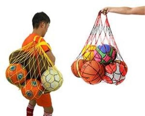 Купити сітки для зберігання і перенесення м'ячів