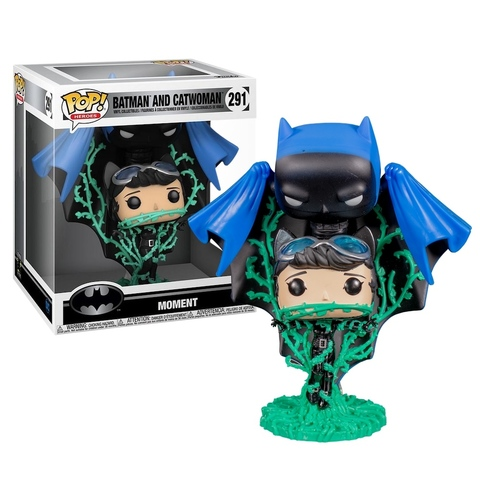 Funko POP! Vinyl: Comic Moment: DC: Batman and Catwoman Vines (Exc)