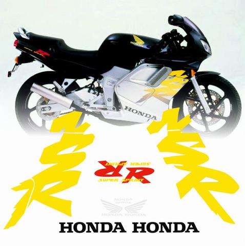 Набор виниловых наклеек на мотоцикл Honda NSR 125 1999