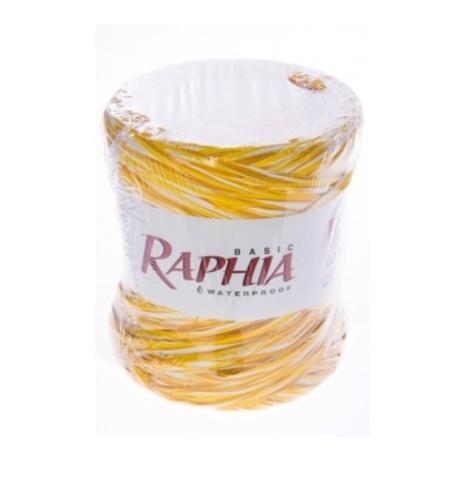 Рафия искусственная Микс Италия 200 м Цвет: желтый