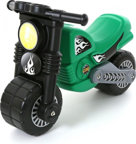 Мотоцикл Моторбайк зеленый