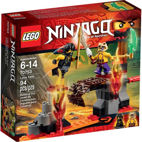 LEGO Ninjago: Сражение над лавой 70753 — Lava Falls — Лего Ниндзяго