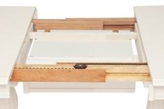 Стол обеденный LORENZO (Лоренцо) pure white (402)