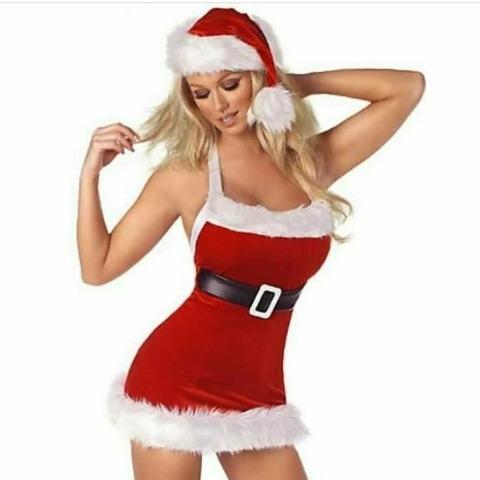Соблазнительный костюм Санта Клауса женский