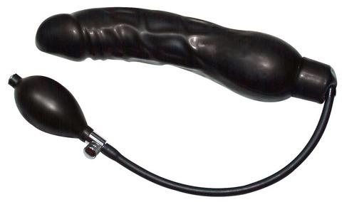 Фаллоимитатор Pumpdildo Black Latex Balloon