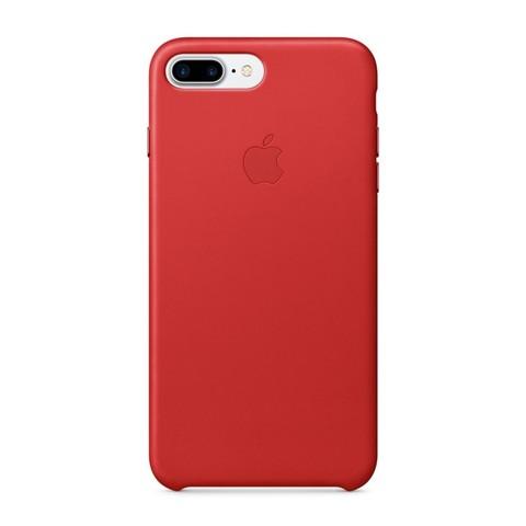 Чехол iPhone 7 Plus Leather Case /red/