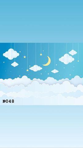 Фотофон виниловый «Ночная сказка» №048