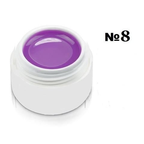 Моделирующий гель-пластилин для декоративного дизайна 7гр. №8 Фиолетовый