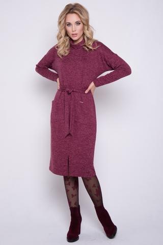 """<p>Платье """"Туся"""" - это расслабленный, комфортный образ, но в то же время стильный и элегантный. (Длины: 44-46=101см; 48=102см; 50=102см; 52=103см)&nbsp;</p>"""