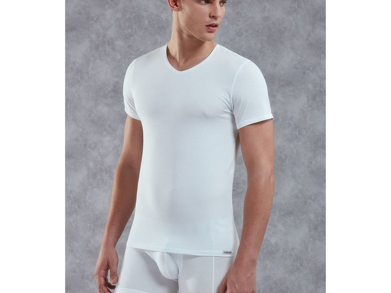 Мужская футболка белая Doreanse 2855