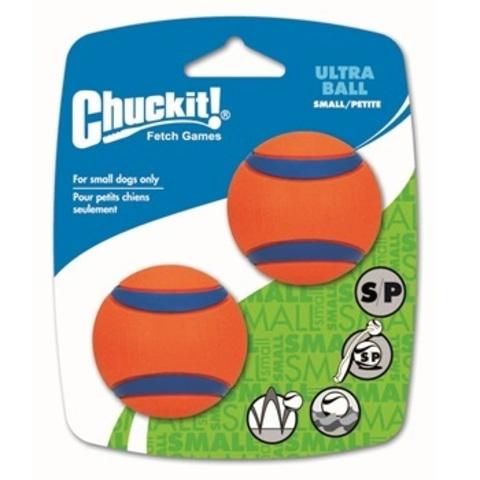 Теннисный мяч CHUCKIT! Ультра, резина, маленькая, 2 шт.