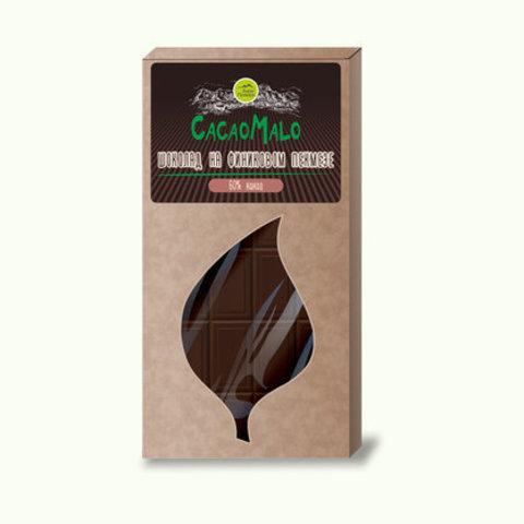 CacaoMalo шоколад на финиковом сиропе 75 г