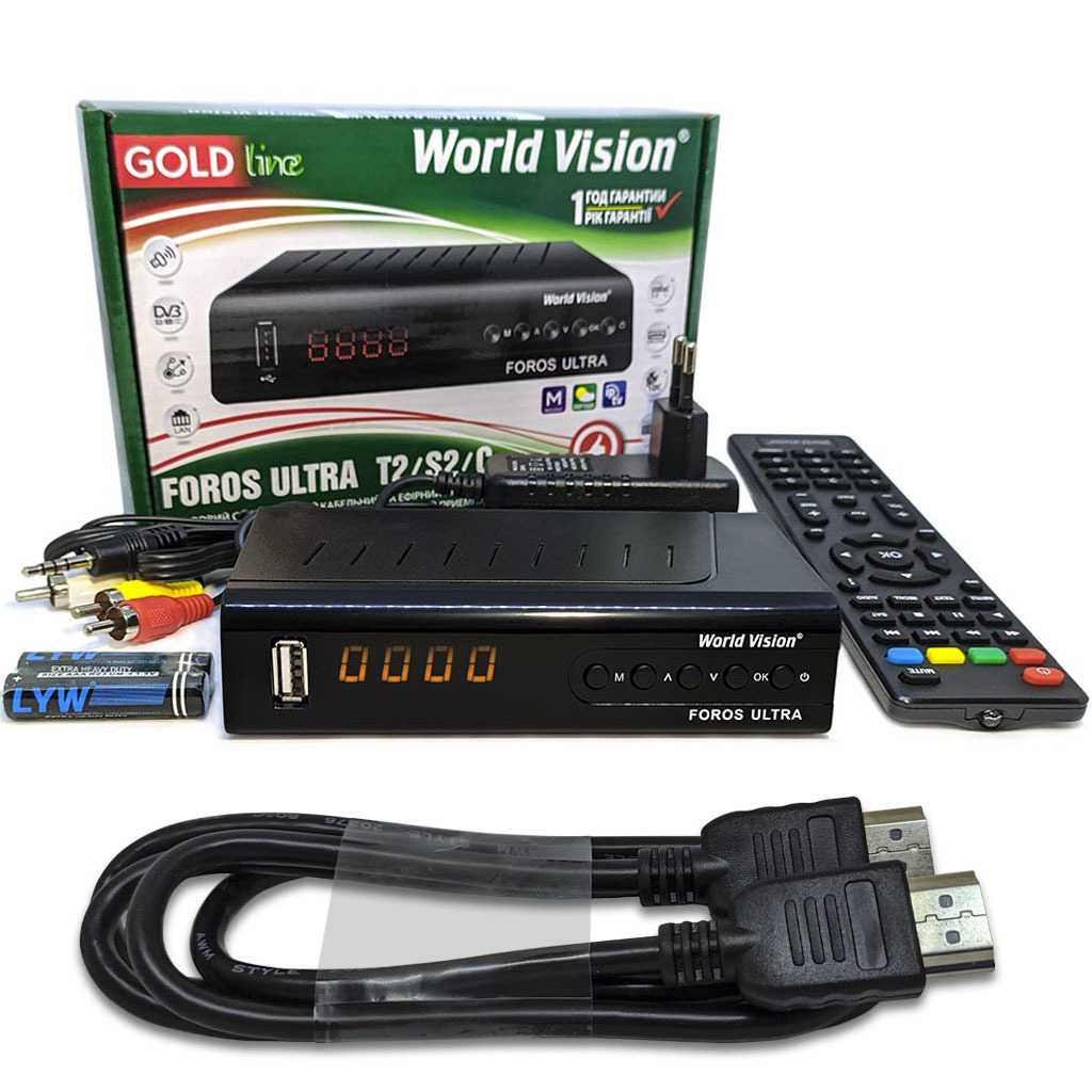 Комплект World Vision Foros Ultra HDMI