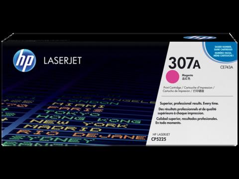Оригинальный картридж HP CE743A (№307A), пурпурный