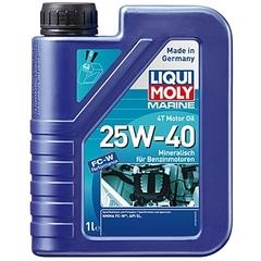 Минеральное моторное масло для лодок Marine 4T Motor Oil 25W-40 Артикул: 25026