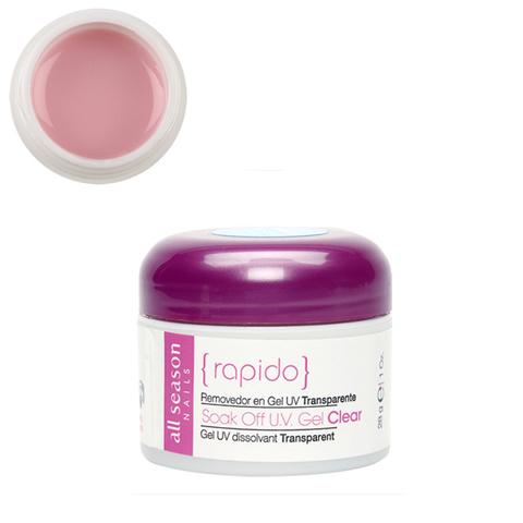 Цветной Soak of gel Flash Flamingo Pink 28,4 мл.