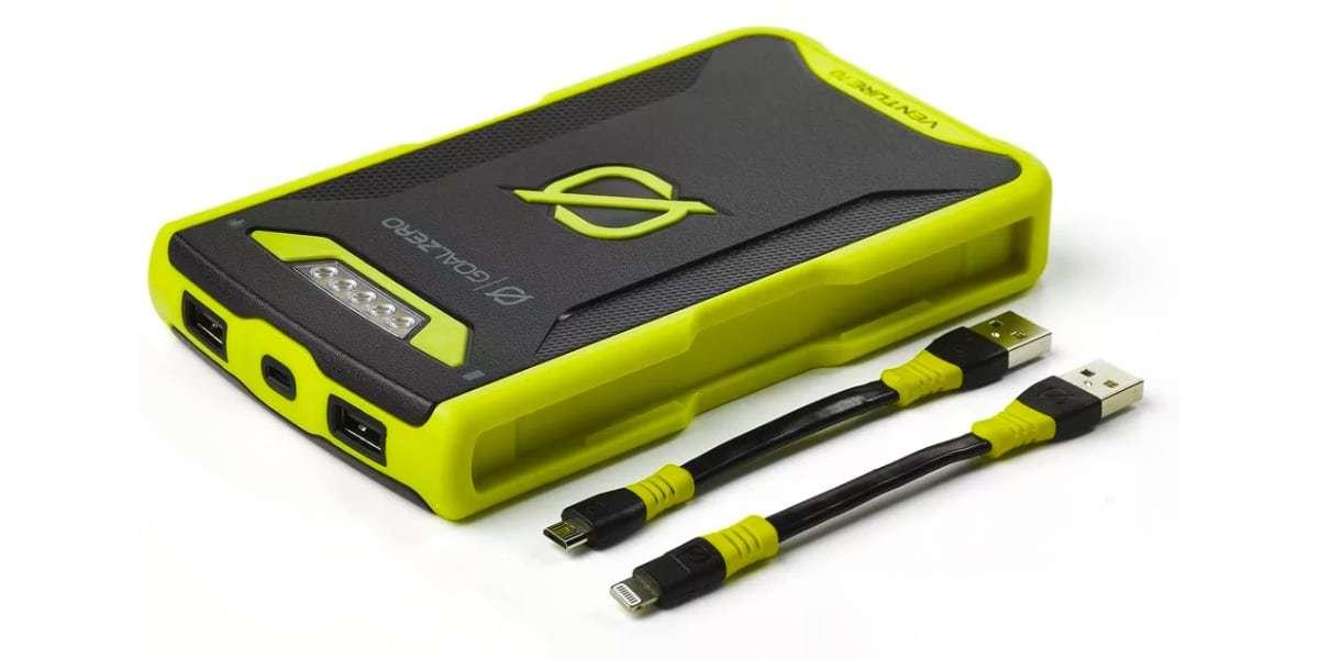 Зарядное устройство Goal Zero Venture 70 Solar Recharger (micro-USB/lightning) комплект