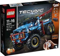 LEGO Technic 42070 Аварийный внедорожник 6х6 Конструктор