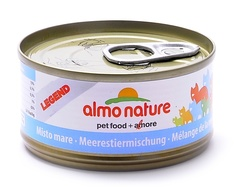 Консервы (банка) Almo Nature Legend Adult Cat Mixed Seafood