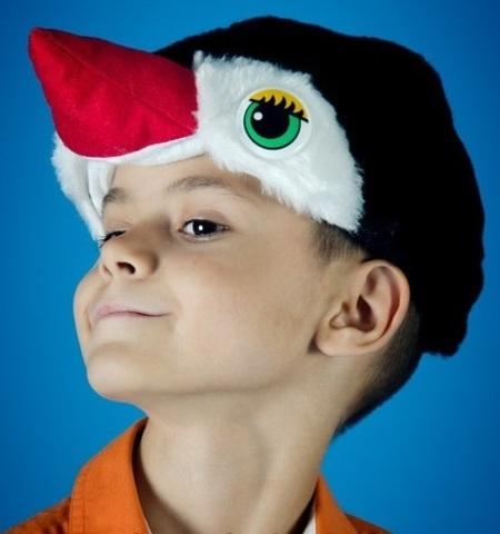 Карнавальная шапочка Пингвина 3