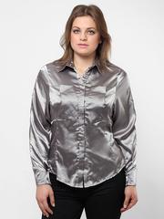 0839-5 рубашка женская, серая