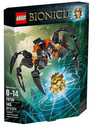 LEGO Bionicle: Лорд Паучий Череп 70790 — Lord of Skull Spiders — Лего Бионикл