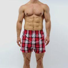 Мужские трусы-шорты красные Salvador Dali SD3310-11