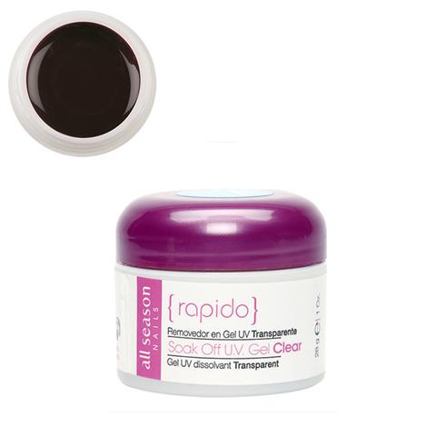 Цветной Soak of gel Plum Purple 28,4 мл.