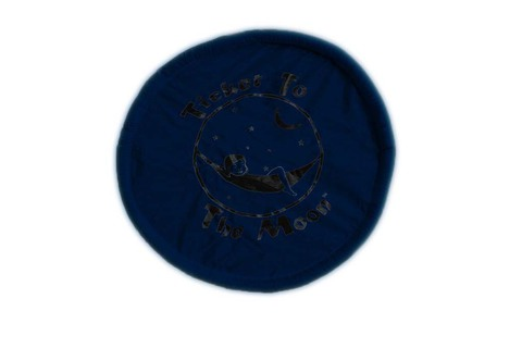 Картинка фризби Ticket to the Moon Pocket Frisbee Navy