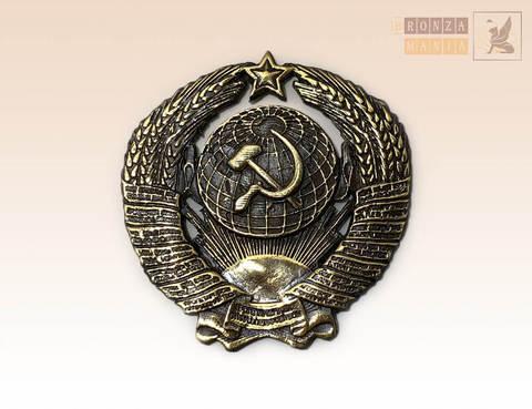 накладка Герб СССР 4х4 см