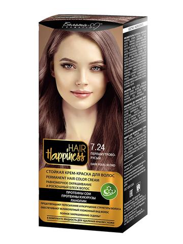 Белита-М Hair Happiness Крем-краска для волос аммиачная №7.24 перламутрово-русый