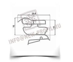 Уплотнитель 83*57 см для холодильника Индезит B16 (холодильная камера) Профиль 022