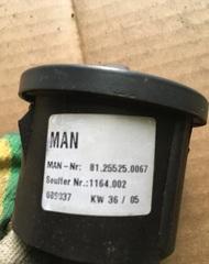 Поворотный выключатель блокировка дифференциала МАН  81255250067